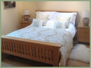 Upstairs Double Bedroom at Meadow Barn